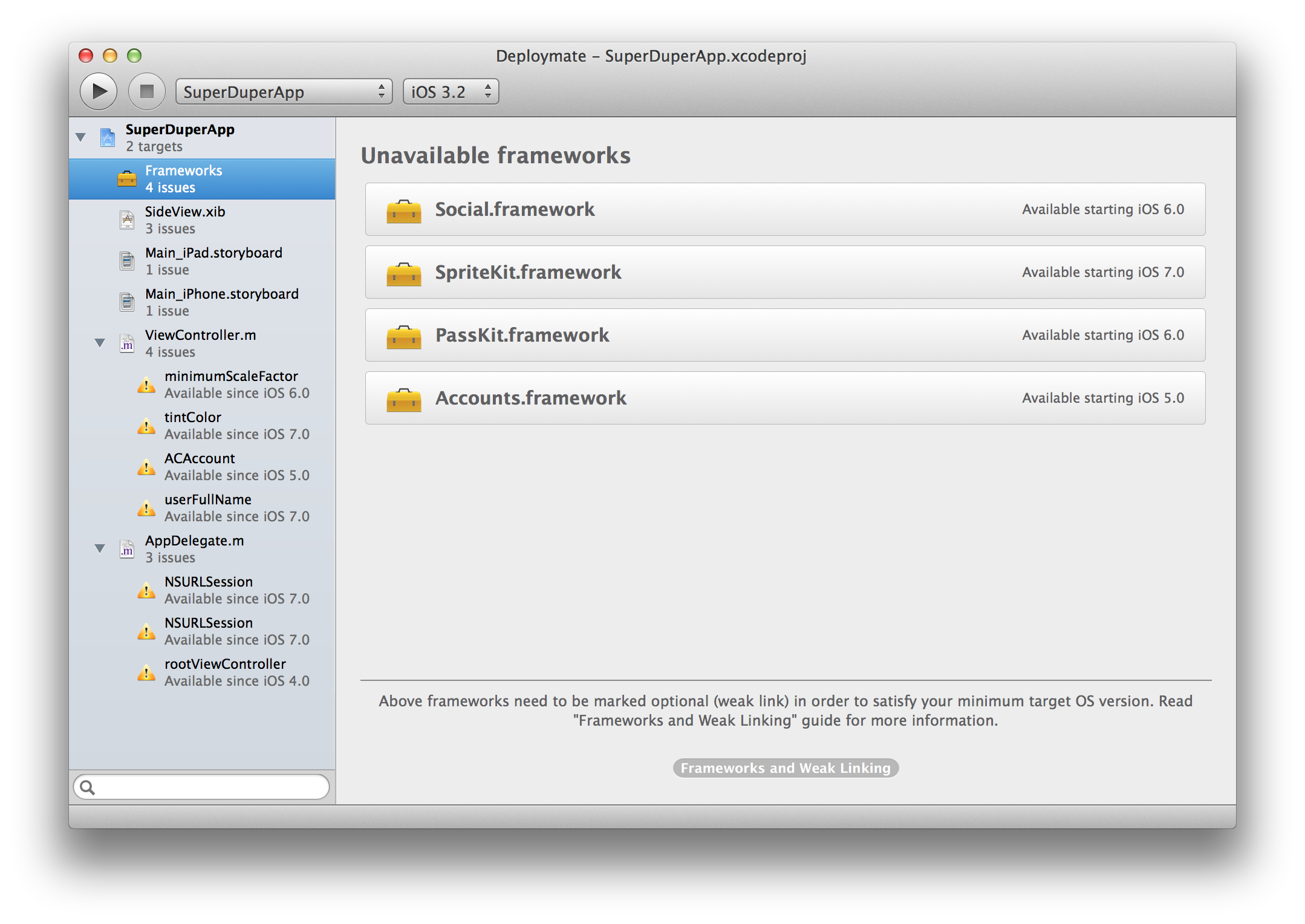 Deploymate for Xcode