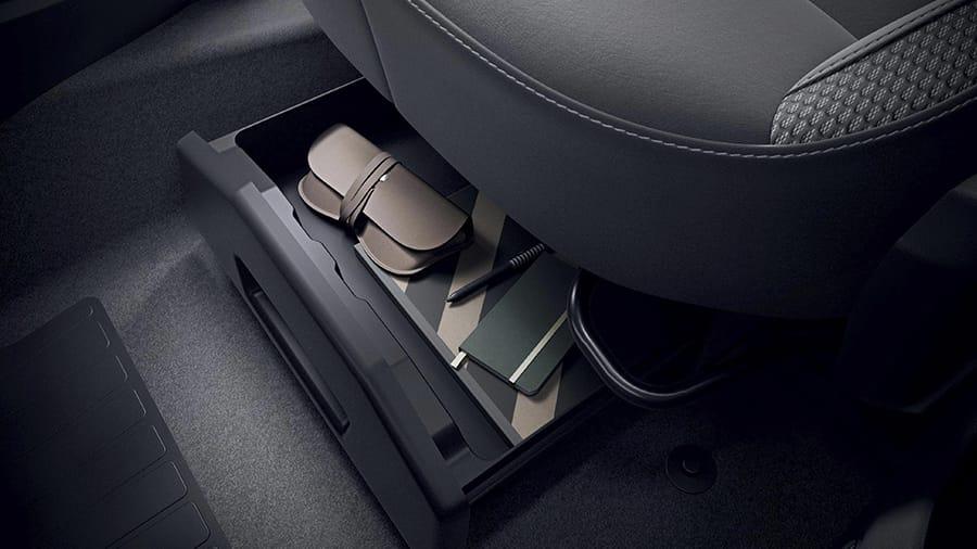 Renault CLIO Más espacios para almacenar