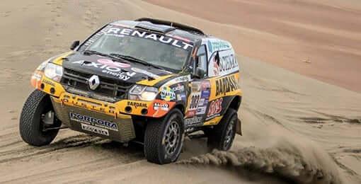 Renault en Atacama Rally