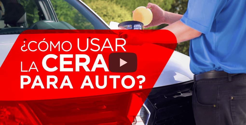 Cómo usar de forma correcta la cera para auto