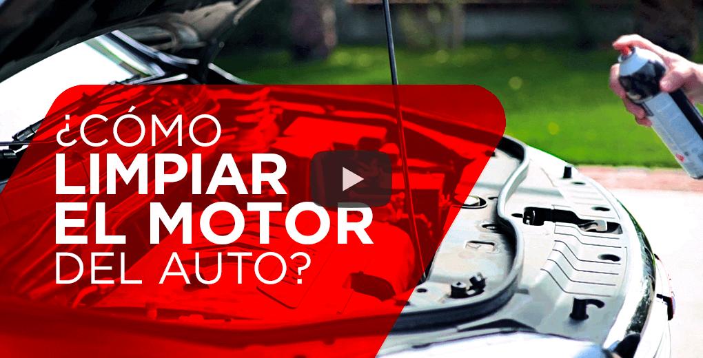 ¿Cómo limpiar el motor del auto?