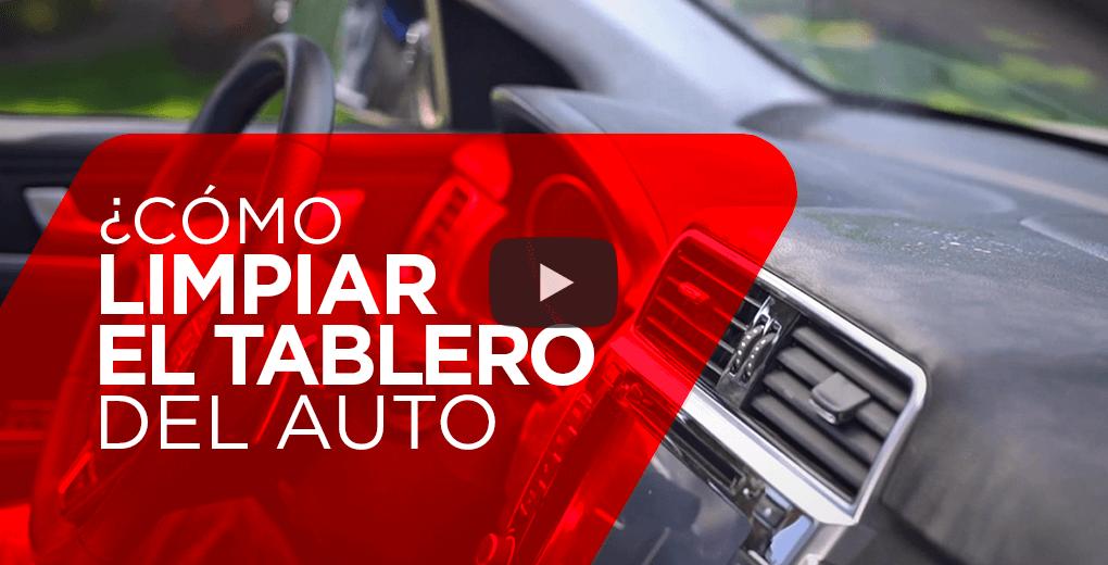 ¿Cómo limpiar el tablero de tu auto?