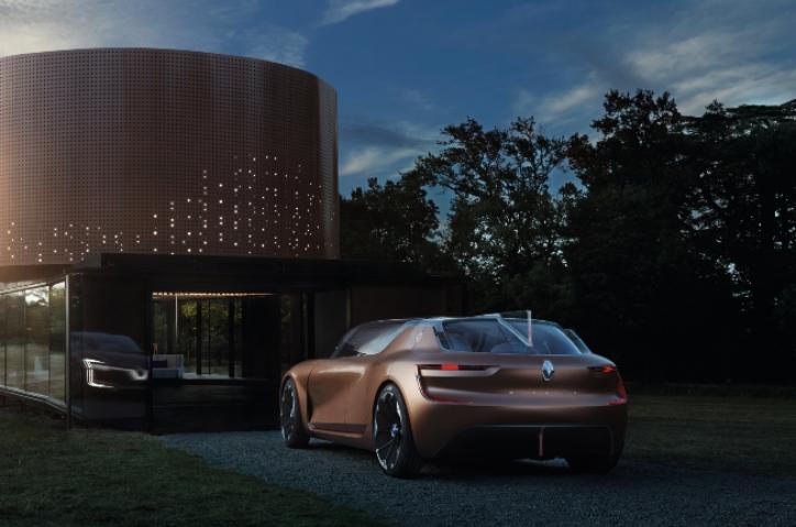 El auto del futuro creado por Renault