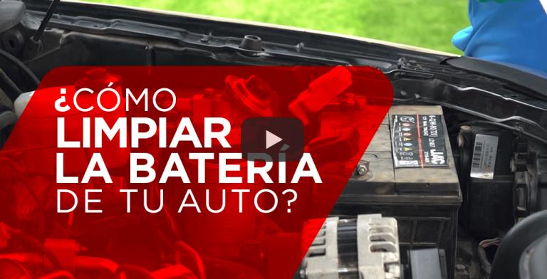 ¿Cómo limpiar la batería de tu auto?