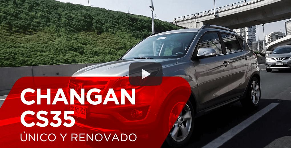 Review Changan CS35 2018 - Único y renovado