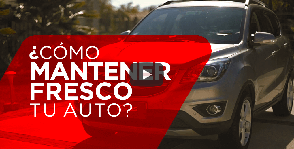 ¿Cómo enfriar el interior de un auto rápidamente?