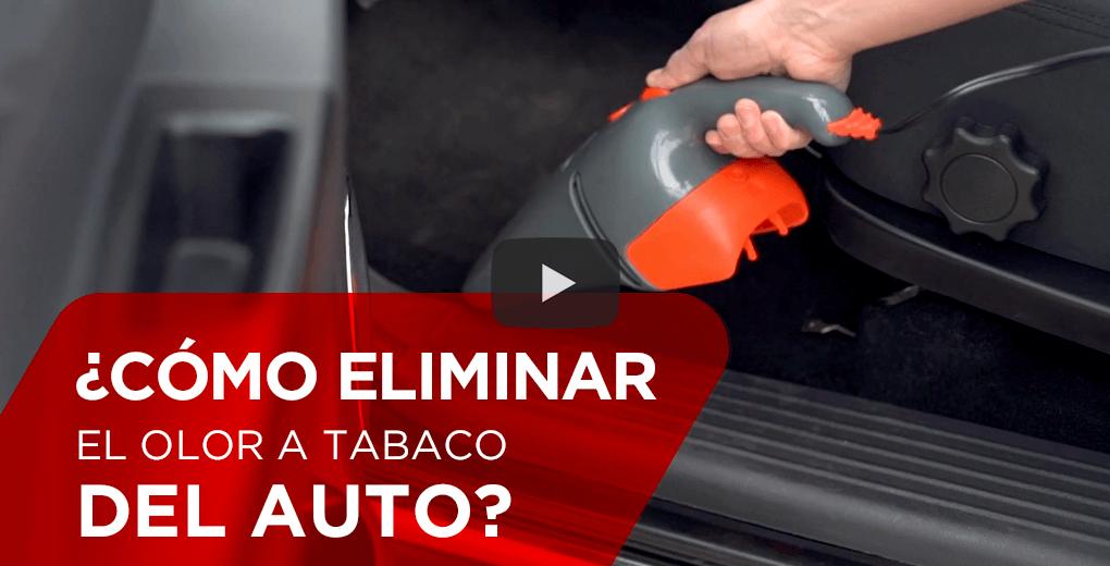 ¿Cómo eliminar el olor a tabaco del auto?