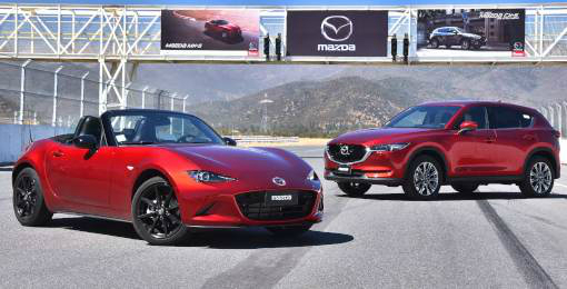 Encuentra las nuevas versiones de los Mazda All New CX-5 y MX-5