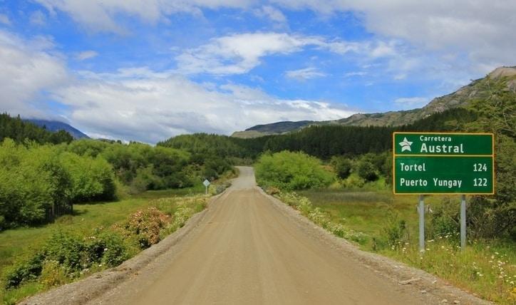 Cómo llegar a la Carretera Austral en auto