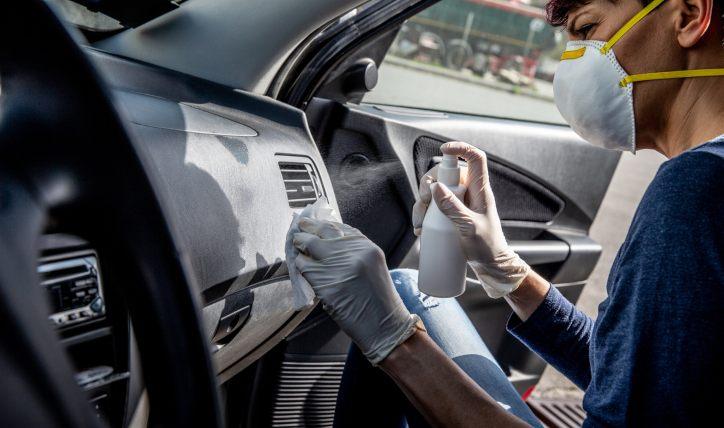 Importancia de sanitización de vehículos en servicio técnico
