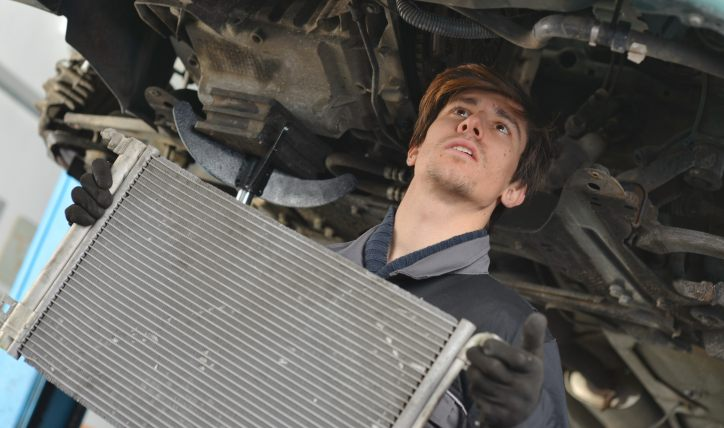 ¿Qué es el radiador de un auto?