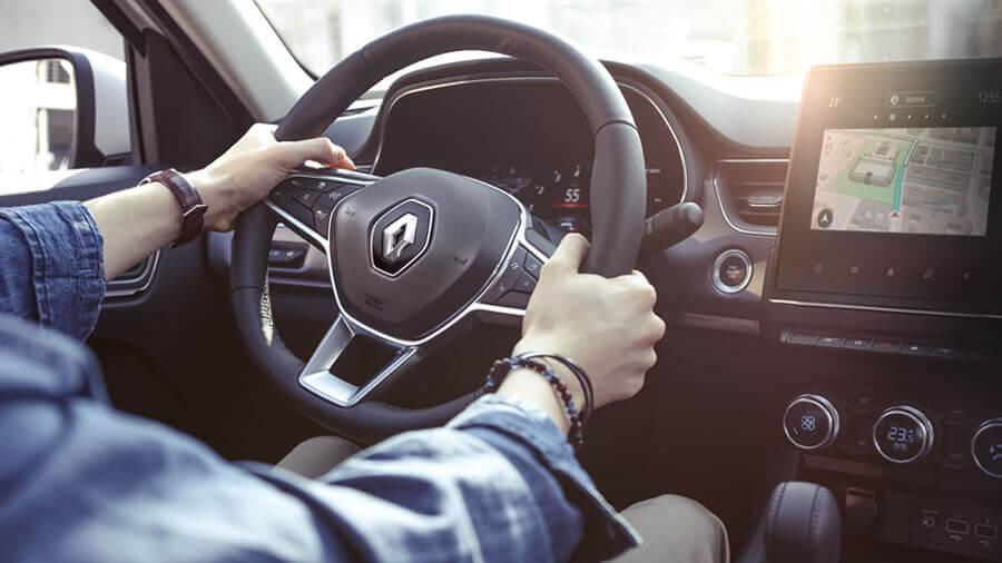 Renault Arkana Paddle Shift