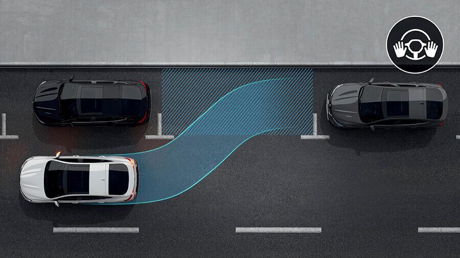 Renault Arkana Easy Parking Assistant(EPA)