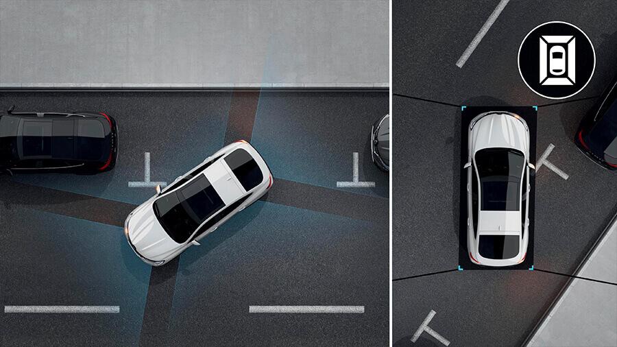 Renault Arkana Asistencia de estacionamiento de 360˚