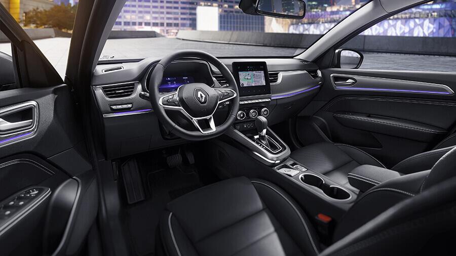 Renault Arkana 6 airbags en todas sus versiones