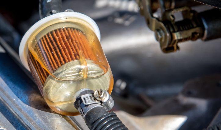 ¿Cuáles son las fallas del filtro de combustible?