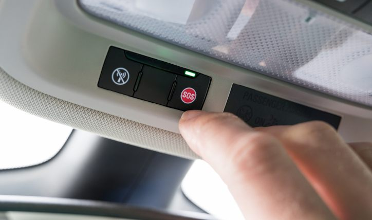 Seguridad para autos: ¿Cómo funciona el sistema e-Call?