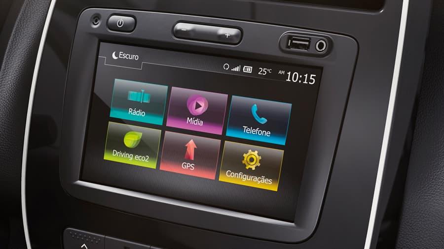 Renault Kwid Radio Media Evolution de 7'' compatible con Android Auto y Car Play
