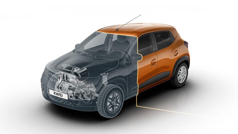 Renault Kwid Tecnología de motor compacto de vanguardia