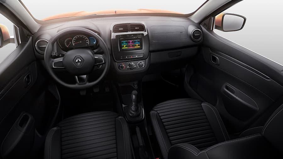 Renault Kwid Seguridad para ti y tus acompañantes