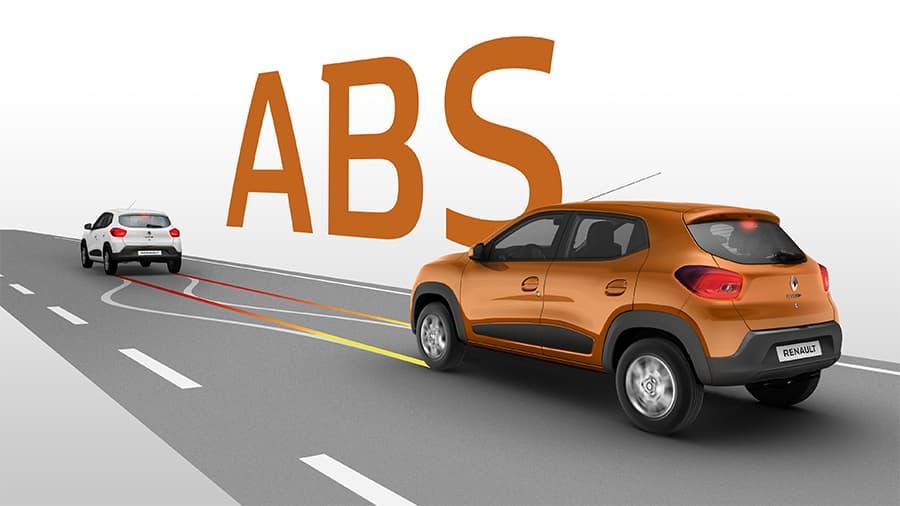 Renault Kwid Frenos ABS y frenos de disco delantero