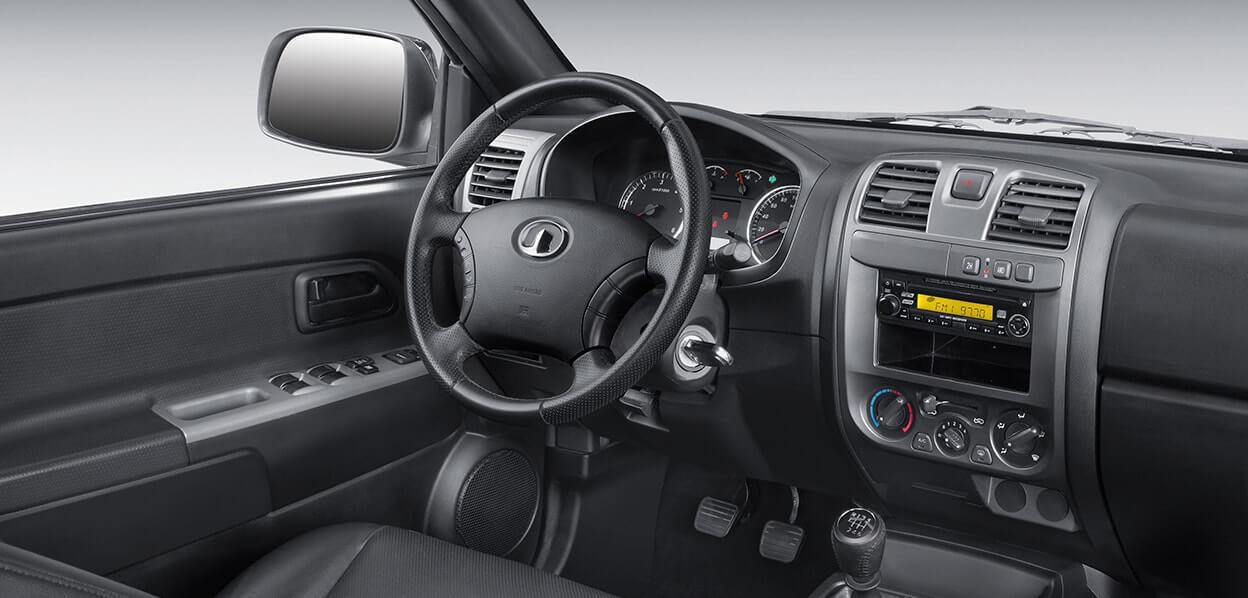 Great Wall Wingle 5 Diesel Cabina Simple 2.0VGT SC 4x2 LUX - Galería interior - imágen 0