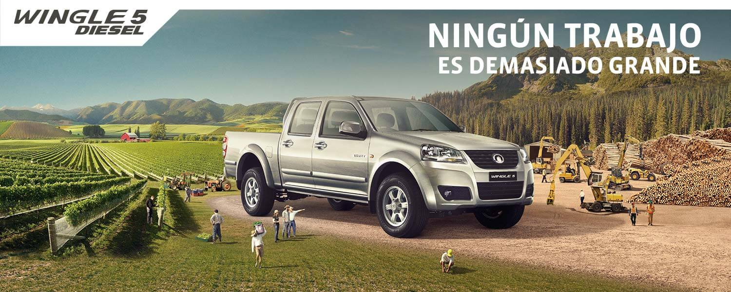 Great Wall Wingle 5 Diesel Doble Cabina 2.0 VGT 4x2 LUX