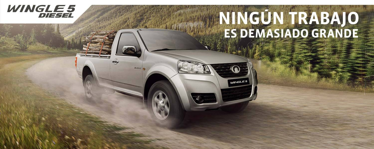 Great Wall Wingle 5 Diesel Cabina Simple 2.0VGT SC 4x2 LUX