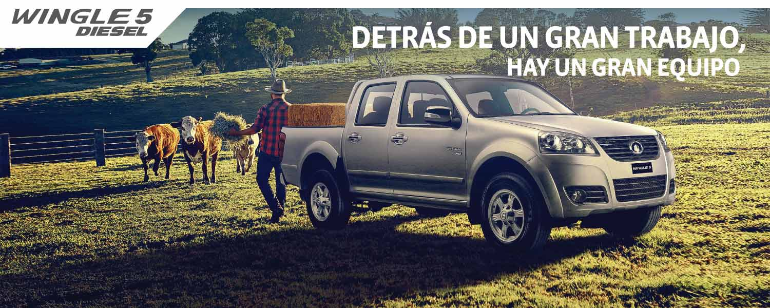 Great Wall Wingle 5 Diesel Doble Cabina 2.0 VGT 4X4 LUX
