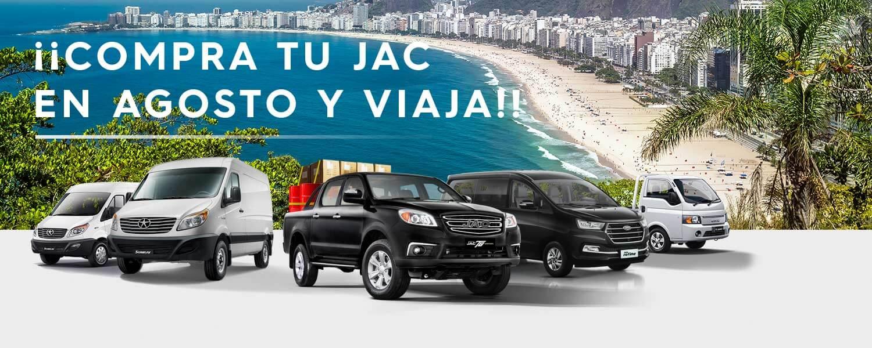 JAC - Línea Comercial Brasil - Desktop