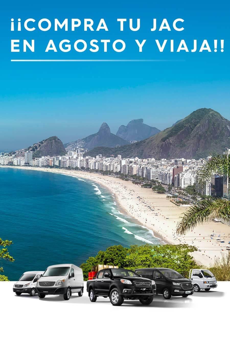 JAC - Línea Comercial Brasil -Mobile
