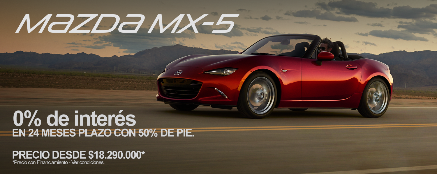 Mazda Mazda MX-5 2.0L 6AT (C.N) T.Lona C.Blanco