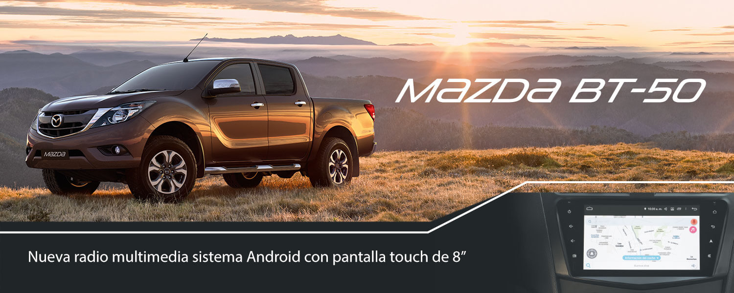Mazda Mazda BT-50 Doble Cabina 2.2 SDX High 6MT 4x4 Diésel (E5) RADIO MULTIMEDIA