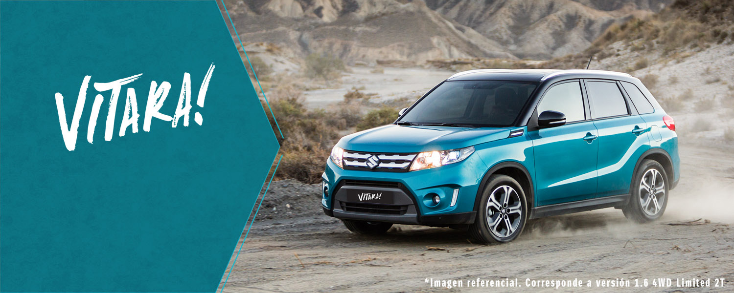 Suzuki Vitara 1.6 AT 4WD Limited