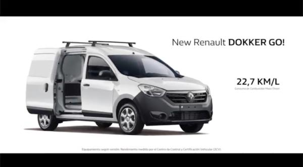 Video Renault, New Renault Dokker Go!