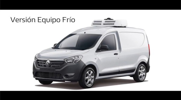 Video Renault, Renault Dokker, con equipo de frío