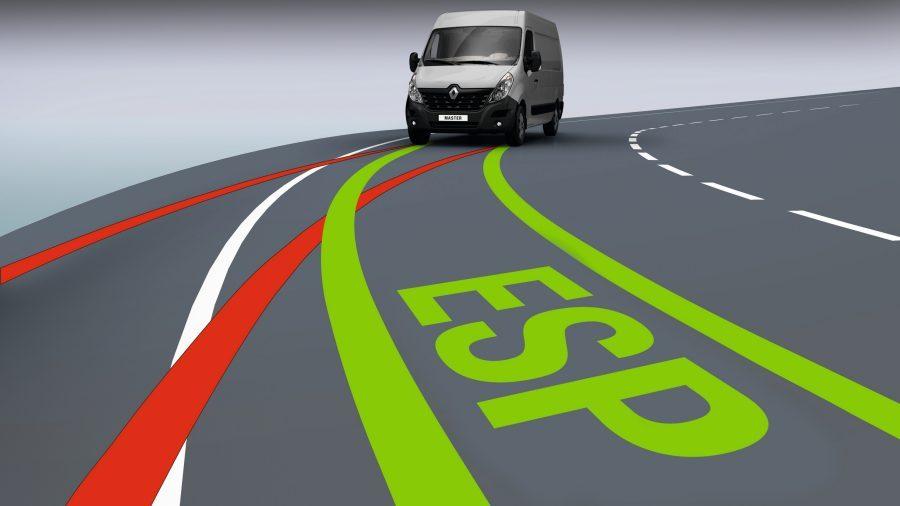 Renault Master, Conduce con tranquilidad Sistema Electrónico de Estabilidad (ESP) de última generación, agarre extendido para tracción optimizada, control adaptativo, etc. La Renault MASTER está equipada para mantenerte seguro.