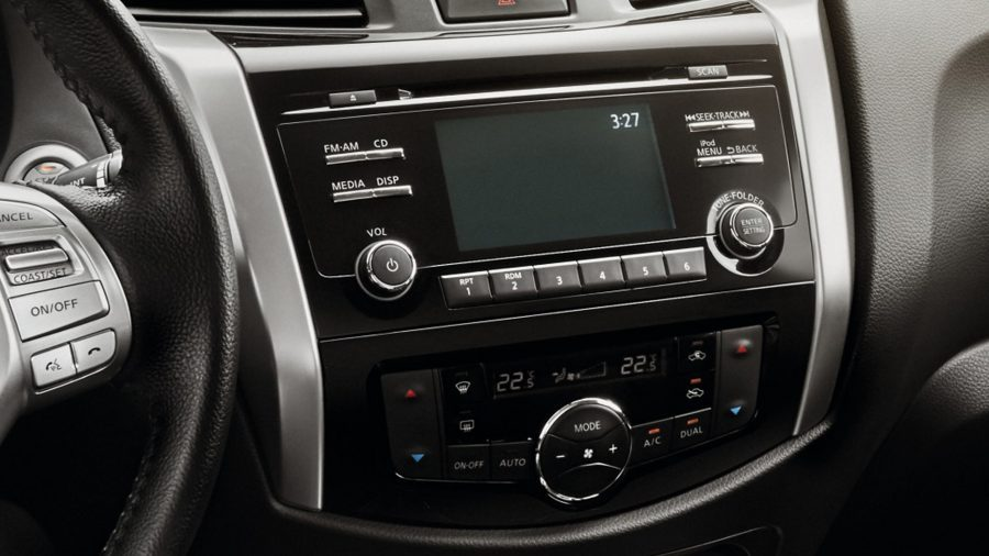 Renault ALASKAN Sistema integrado de audio y multimedia