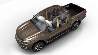 Renault ALASKAN, Protección para todos los pasajeros