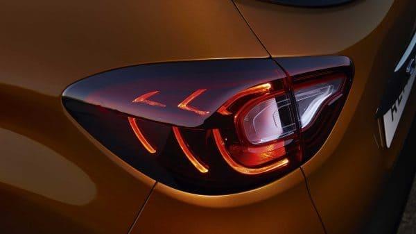 Renault CAPTUR, Iluminación