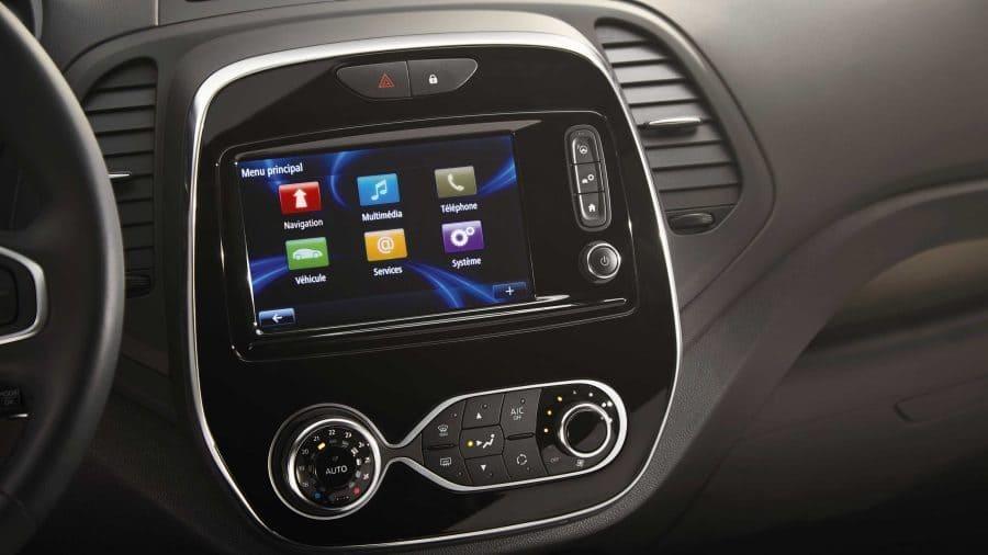 Renault CAPTUR, Conexión multimedia R-Link con Android auto