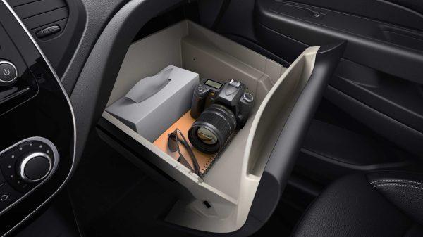 Renault CAPTUR, Posibilidades de almacenamiento