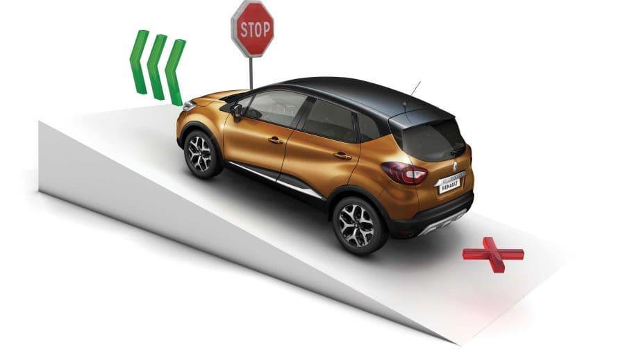 Renault CAPTUR, HSA (Asistente arranque en cuestas)