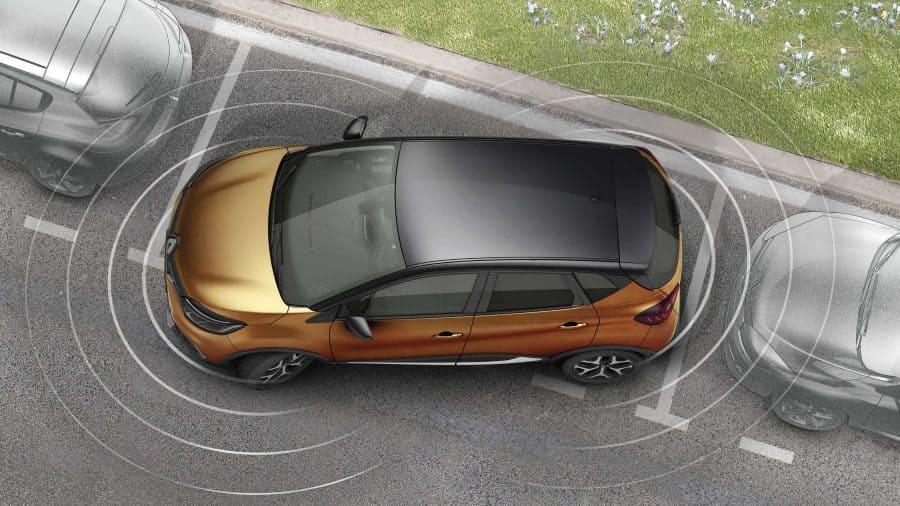 Renault CAPTUR, Sensor y cámara de retroceso