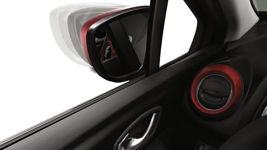 Renault CLIO Retrovisores exteriores eléctricos plegables