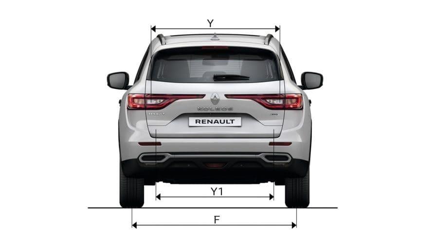 Dimensiones Renault KOLEOS