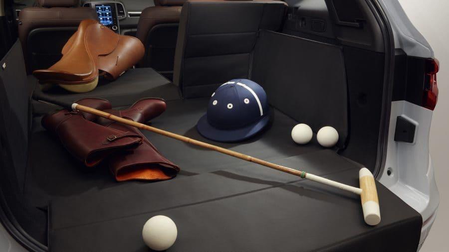 Renault KOLEOS, Gran y modular espacio interior