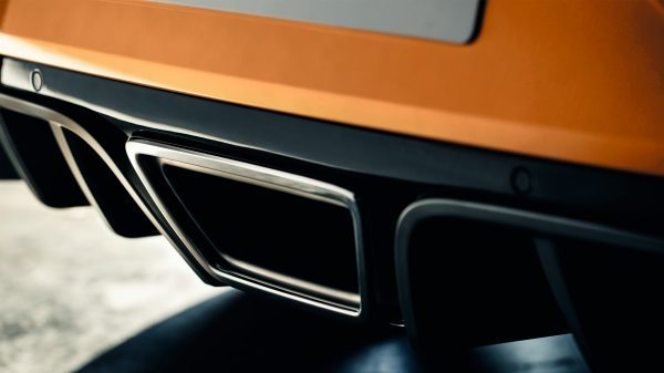 Renault MEGANE R.S., Una parte trasera aerodinámica