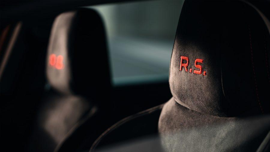 Renault MEGANE R.S., R.S. Tapicería de ambiente exclusivo