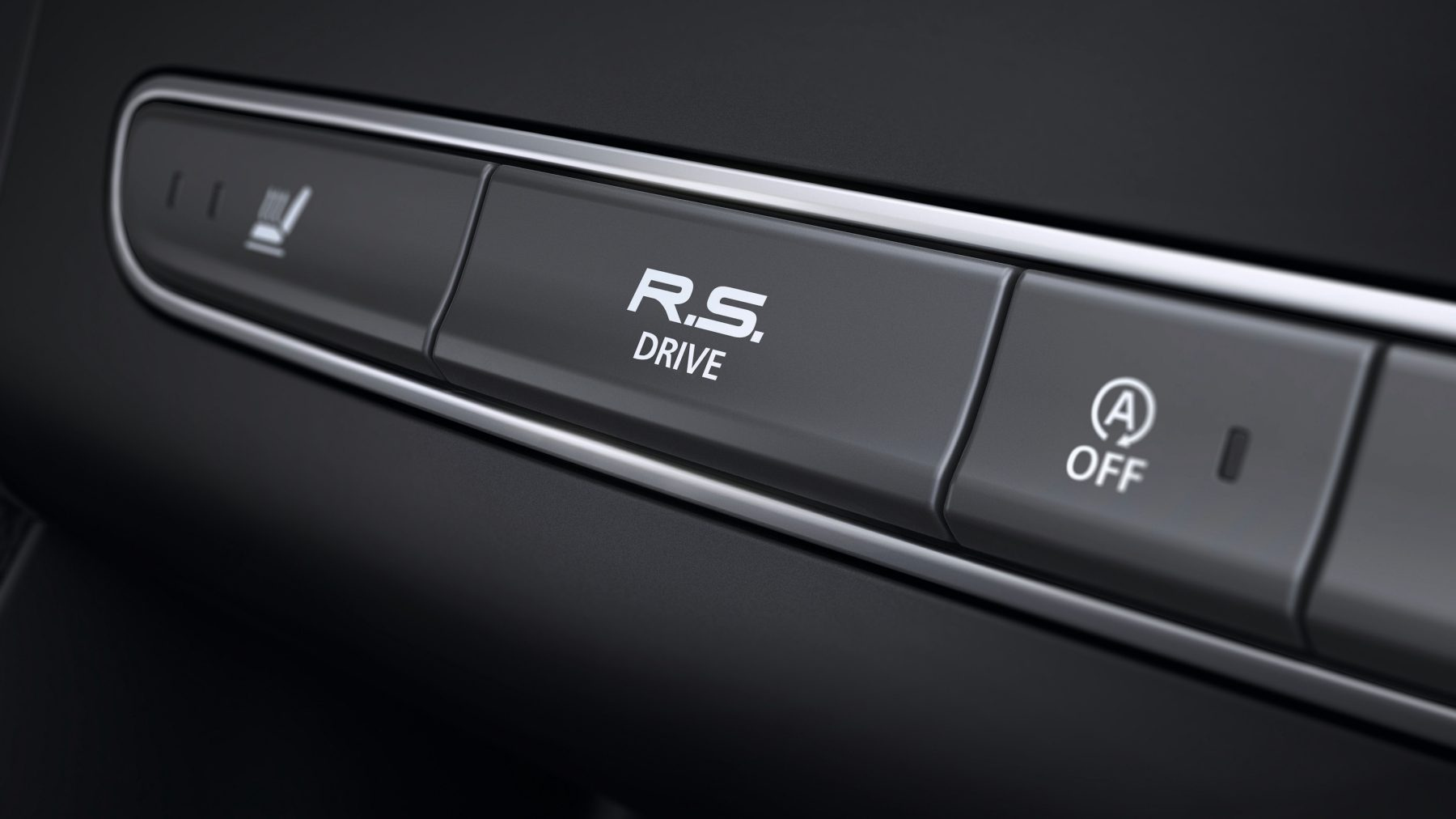 Renault MEGANE R.S. - Enfoque en el botón R.S. Drive